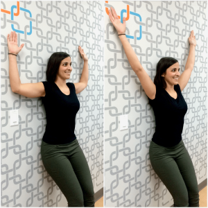 Wall Angels Exercise Calgary Chiropractor