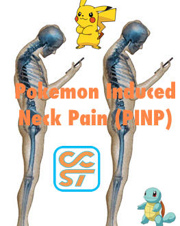 Pokemon Induced Neck Pain (PINP)